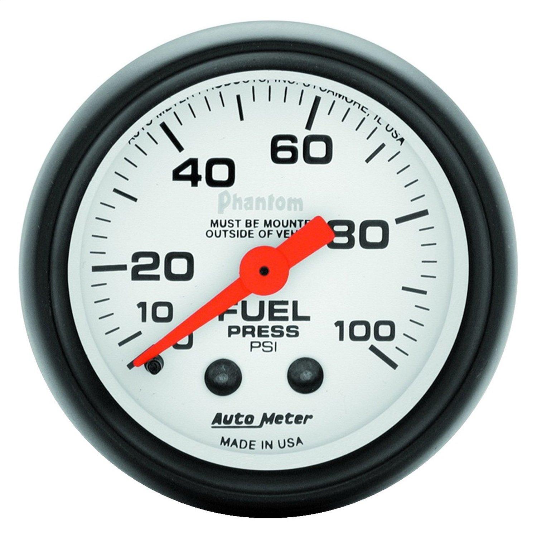 Auto Meter 5712 Phantom Mechanical Fuel Pressure Gauge