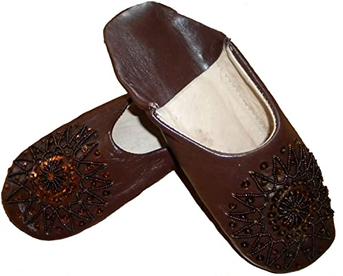 8e1a96a332f0d Terrapin Trading Fair Trade Ladies Moroccan Babouche Traditional Slippers