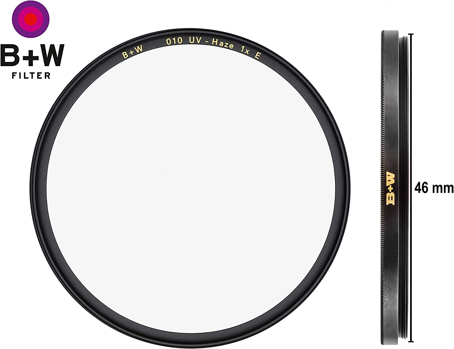 HTC 16 Layers Multi-Resistant and Nano Coating 010 B W UV-Haze Protection Filter for Camera Lens T-PRO Ultra Slim Titan Mount 62 mm Photography Filter