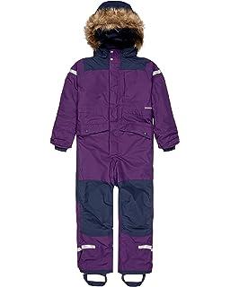 Didriksons Ridne Kids Coverall Waterproof Insulated Ski Suit Girls Boys