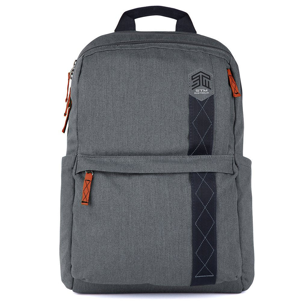 STM Banks Backpack For Laptop & Tablet Up To 15'' - Tornado Grey (stm-111-148P-20)