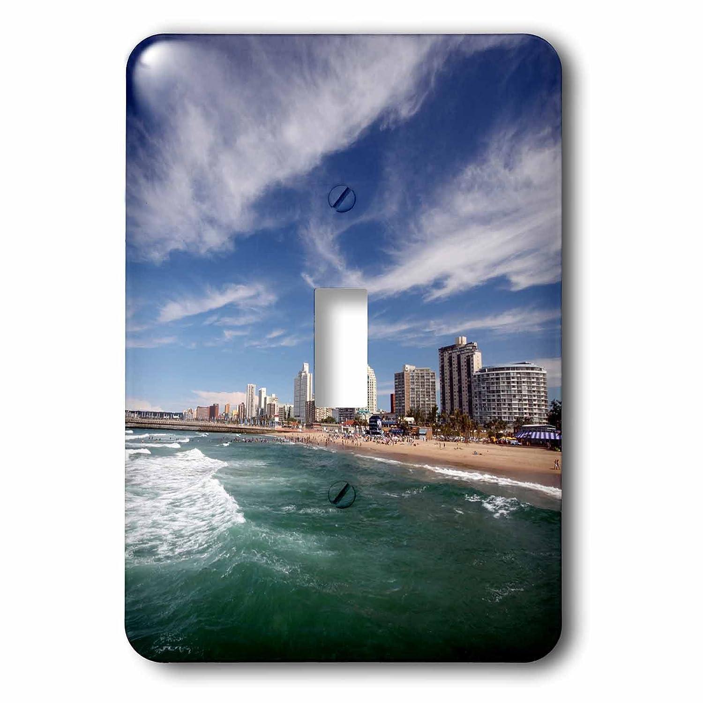 Durban South Africa Single Toggle Switch KwaZulu Natal 3dRose lsp/_208532/_1North Beach and Promenade