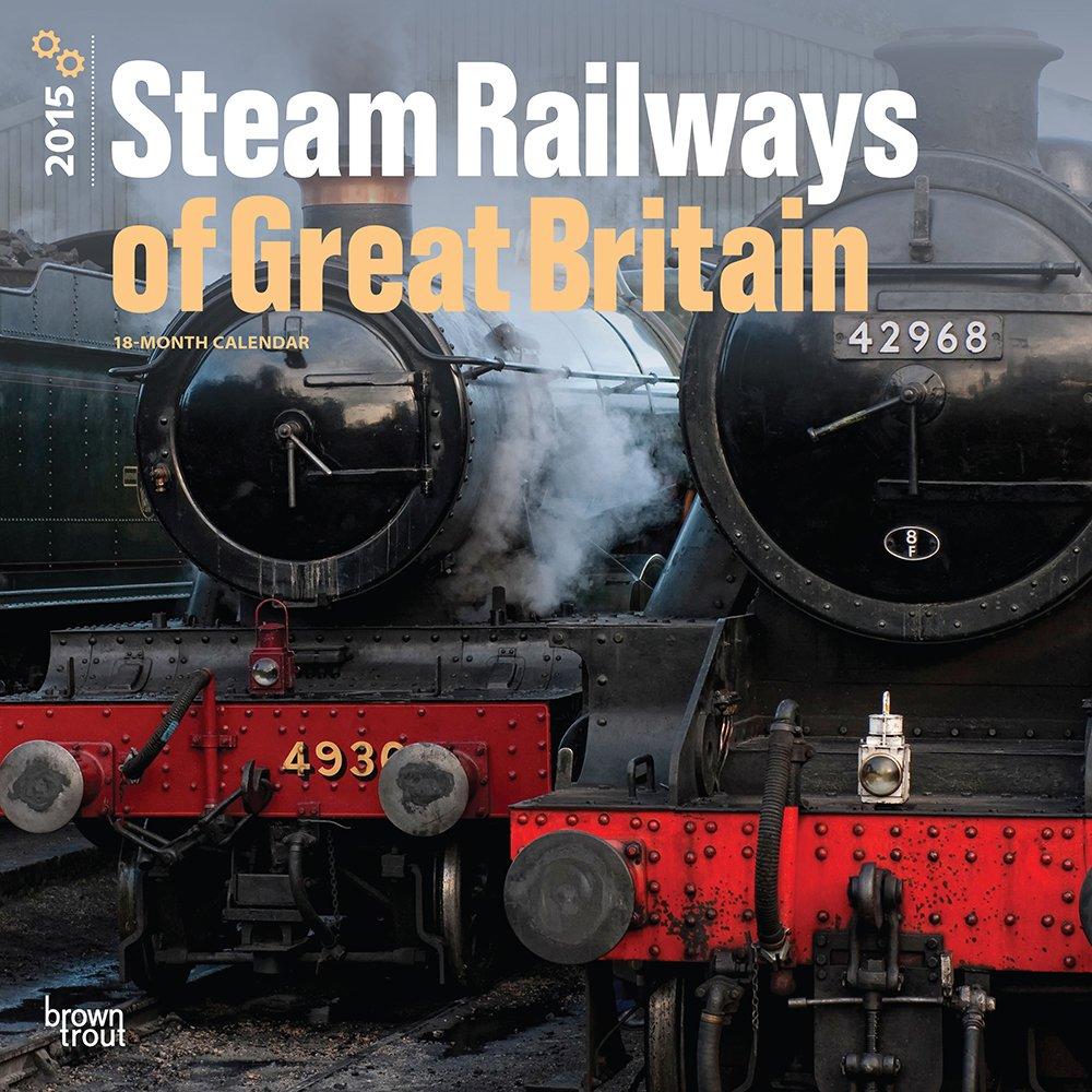 Download Steam Railways of Great Britain 2015 Square 12x12 ebook