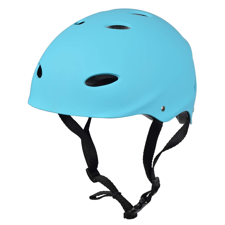 Apollo Casco para Skate/Bicicleta de la Marca Casco Ajustable para Skate, Scooter, BMX, con botón Giratorio Adecuado para niños y adultes, Disponible ...
