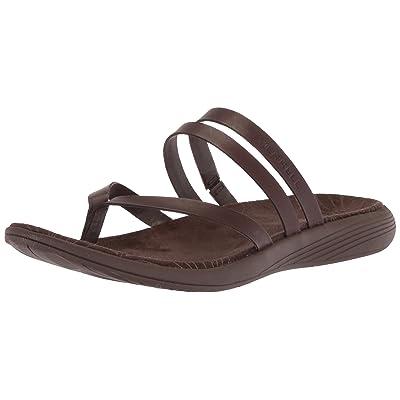 Merrell Women's Duskair Seaway Post Leather Sandal   Sport Sandals & Slides