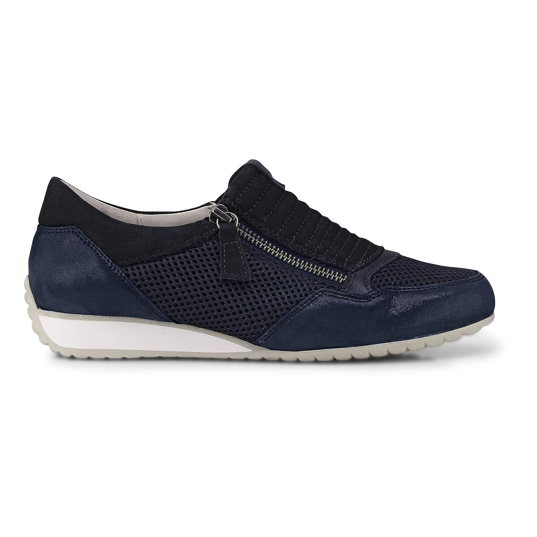Gabor Damen Turnschuhe Rhodos G blau blau G Textil 38 105563