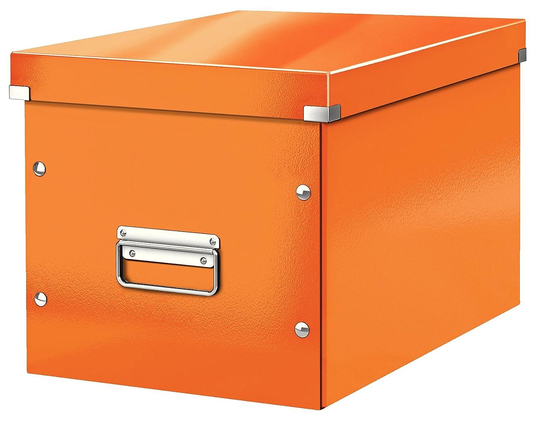 Click /& Store 61080095 Negro Leitz Caja de almacenaje c/úbica Tama/ño grande