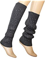 Dahlia Women's Knit Leg Warmers - Fancy Sparkling