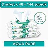 Prima Islak Havlu  Aqua Pure 48*3, 144 Yaprak