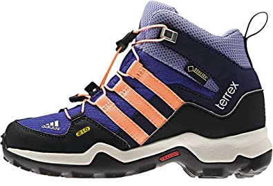 how to buy store look out for adidas Terrex Mid Gore-TEX Junior Hiking Shoes (Purple ...