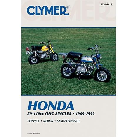 amazon com 72 96 honda z50 clymer service manual automotive rh amazon com Honda Trail CT110 Honda Trail CT110