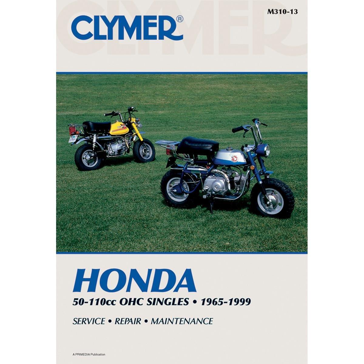 72-96 HONDA Z50: Clymer Service Manual