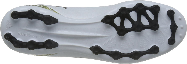 adidas Men's X 16.3 Ag Football Boots White Ftwr White Core Black Gold Met