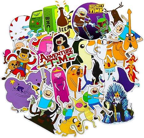 Adventure Time Sticker Vinyl Bumper Sticker Decal Waterproof 5 Golb