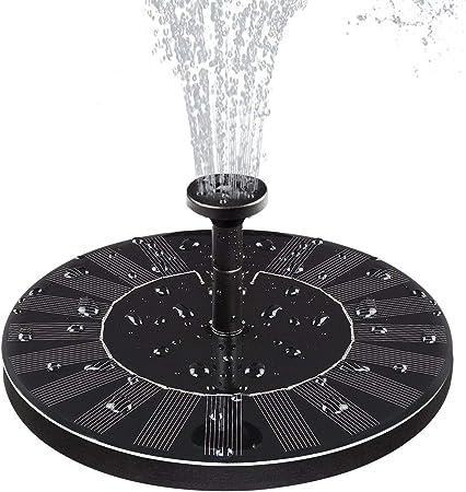 Bomba Fuente De Agua Solar, Bomba De Fuente Solar Accionada Para Jardín Bird Bomba De Fuente