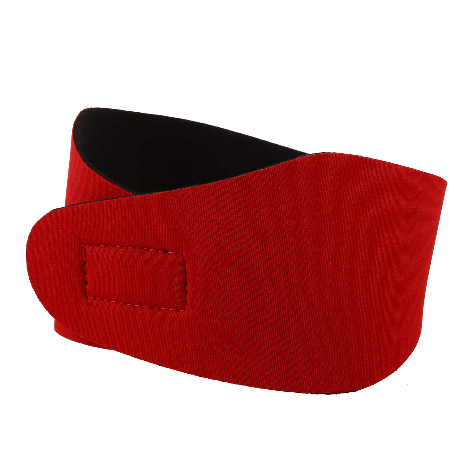 Nrpfell Swimming Ear Hair Band For Women Men Adult Children Neoprene Ear Band Swimming Headband Water Protector Gear Head Band(red//M