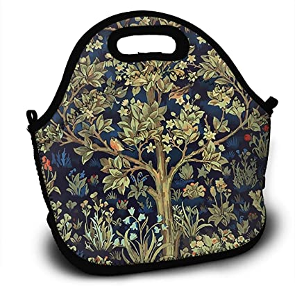 8df00d5b6 Amazon.com: Lunch Bag Thermal Bags Tote Tree Of Life Birds And ...