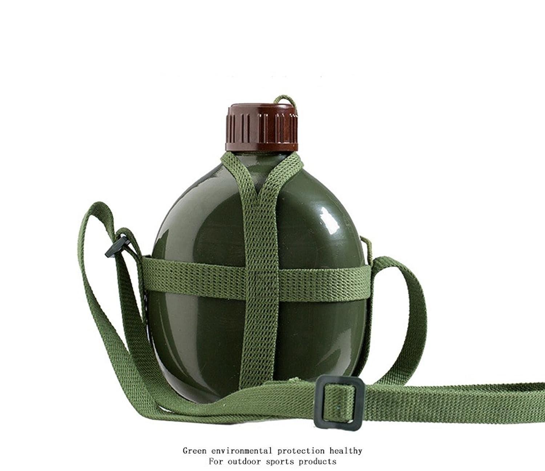 ZGBZZ Outdoor-Wasserkocher, Sport Cup, übergroße Tasse Convenience-Kapazität, Erwachsene, 1.2L Lunchbox Wasserkocher, Aluminium Wasserkocher Outdoor-Reise-Waren