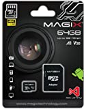 Magix Micro SD Card 4K Series Class10 V30 + SD Adapter UP to 100MB/s (64GB)