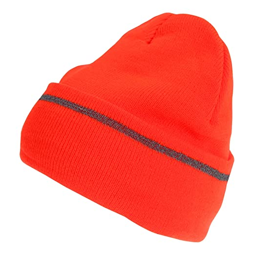 721f3578e ProClimate Mens Hi-Vis Reflective Thinsulate Beanie Hat