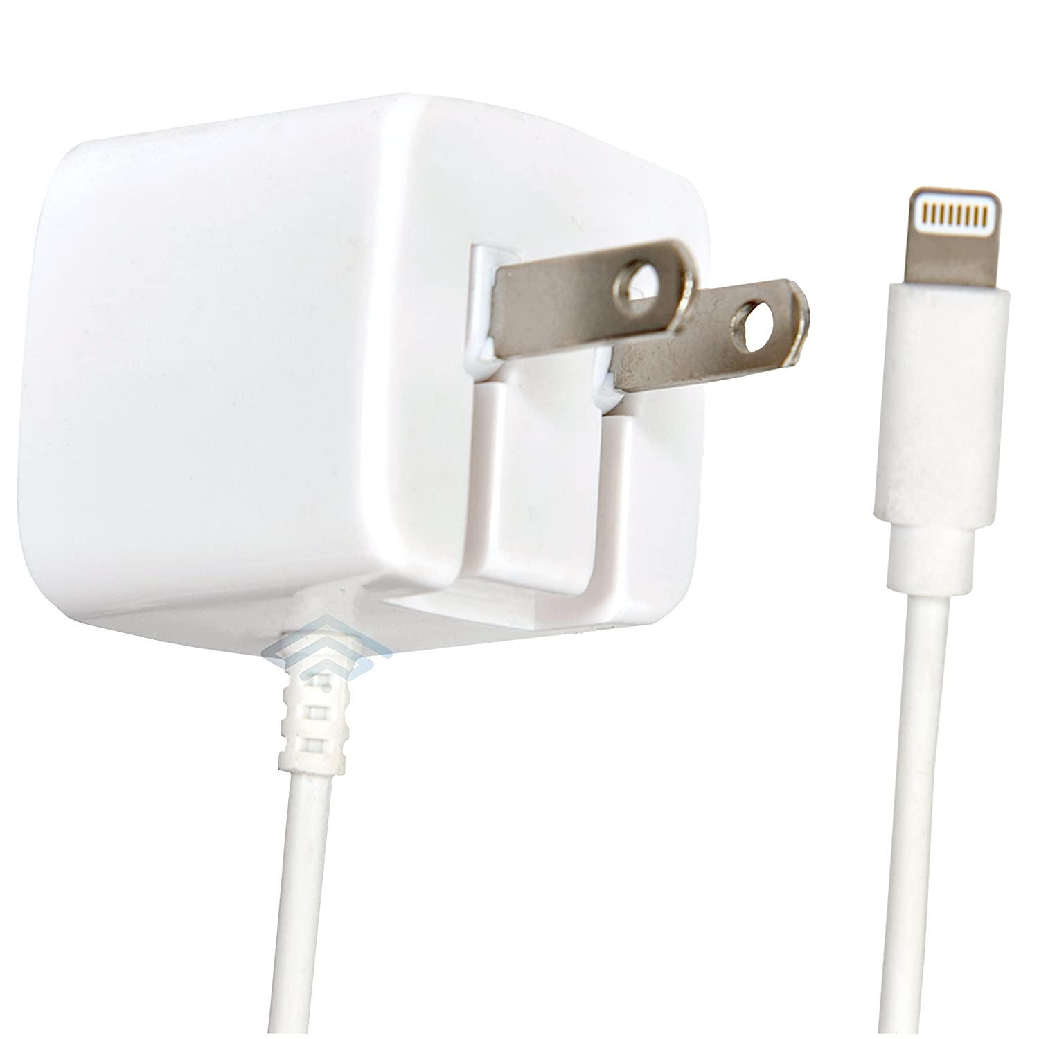 Apple Certified iPhone Lightning Charger , Wall Plug , for iPhone 11 Pro XS  Max X XR XS 8 Plus 7 6S 6 5S 5 5C SE , Pins Fold , 2.1a Rapid Power , Take