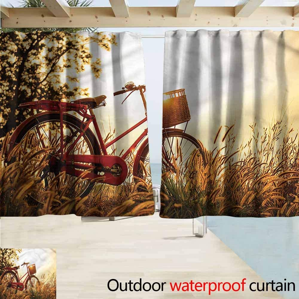 Cortina para Puerta corredera con diseño de Oso de Bicicleta para ...