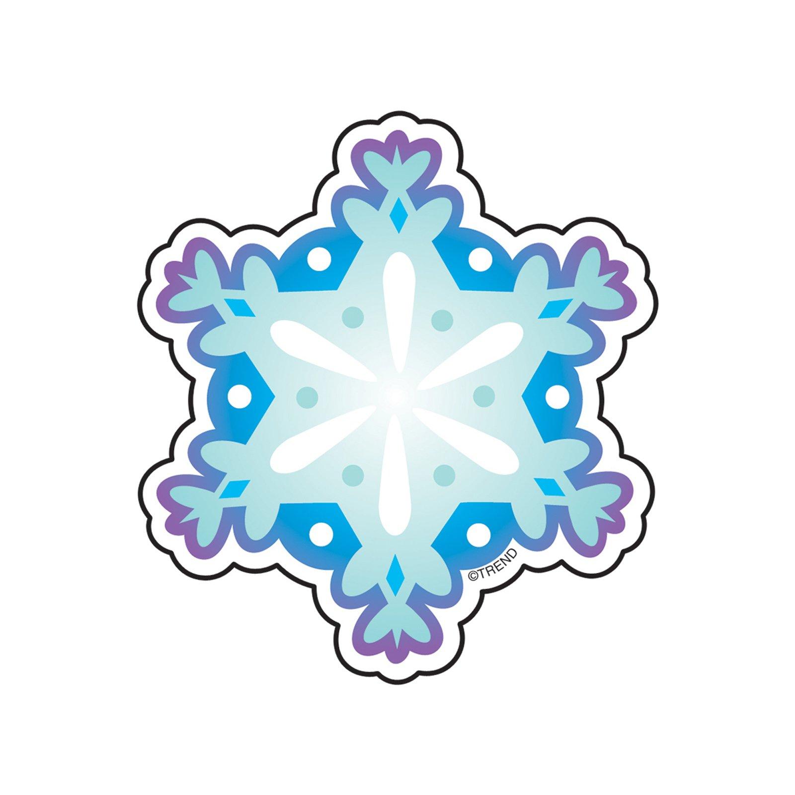 TREND enterprises, Inc. T-10520BN Snowflake Mini Accents, 36 Per Pack, 12 Packs by TREND Enterprises
