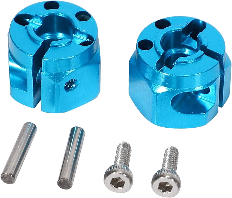 Tiamu Aluminum Alloy Universal Gearbox Cup Joint Swing Shaft Set for 1//10 RC Car TT-01 TT01 TT-02 TT02 Upgrade Parts
