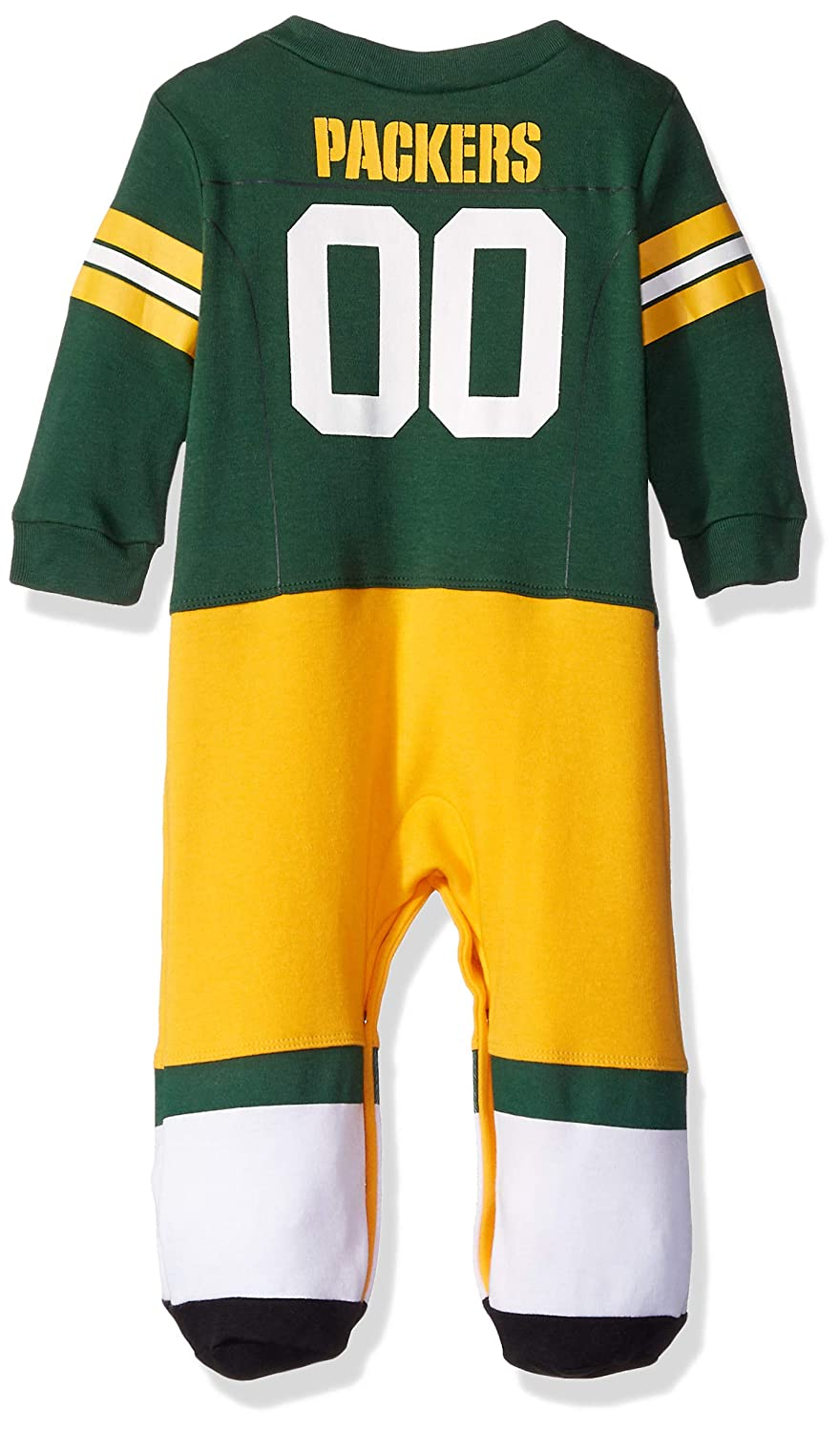 148d5e686 Amazon.com   NFL Green Bay Packers Unisex-Baby Footysuit Coverall ...