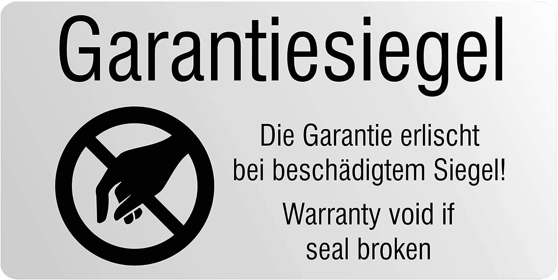 208Pcs Garantie Zerbrechliches Etikett Universelles Siegel LEERES EtiYRDE