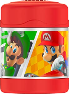 THERMOS FUNTAINER 10 Ounce Food Jar, Mario Kart