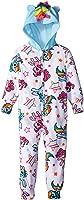 MY LITTLE PONY Girl's 8 Fleece Hooded Pajama Sleeper, Rainbow Dash, Pinkie Pie