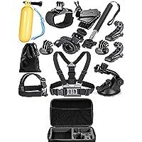 Yantralay GoPro Accessories Kit for Hero 5 4 3+ 3 2 1, SJCAM SJ4000 SJ5000, Yi & Other Action Cameras