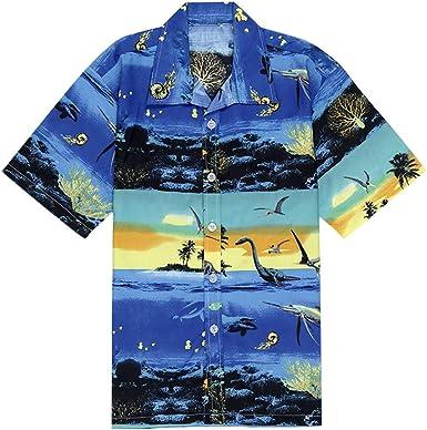 Fannyfuny camiseta Hombre Verano Funky Camisa Original King Kameha Hawaiana Bolsillo Delantero Camisa de Playa Impresión de Estilo Grafiti de Hawaii Surf Tank Top Blusas Slim Fit: Amazon.es: Ropa y accesorios