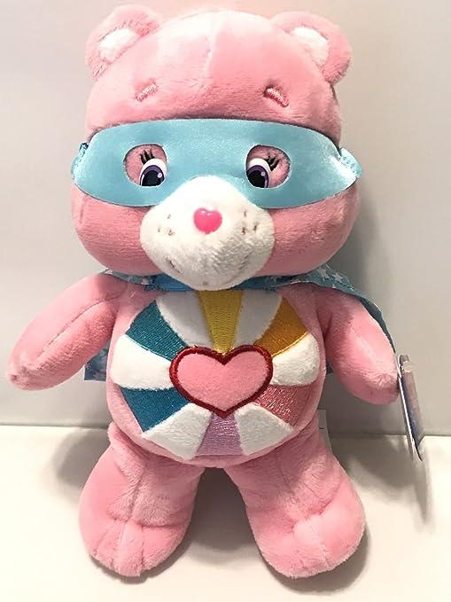 c91226d5df2 Amazon.com  Care Bears Hopeful Heart Plush Super Hero Friends HOPEFUL HEART  8