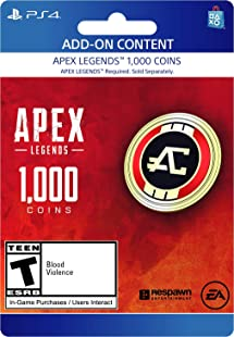 Amazon.com: Apex Legends - 1,000 Coins Virtual Currency ...