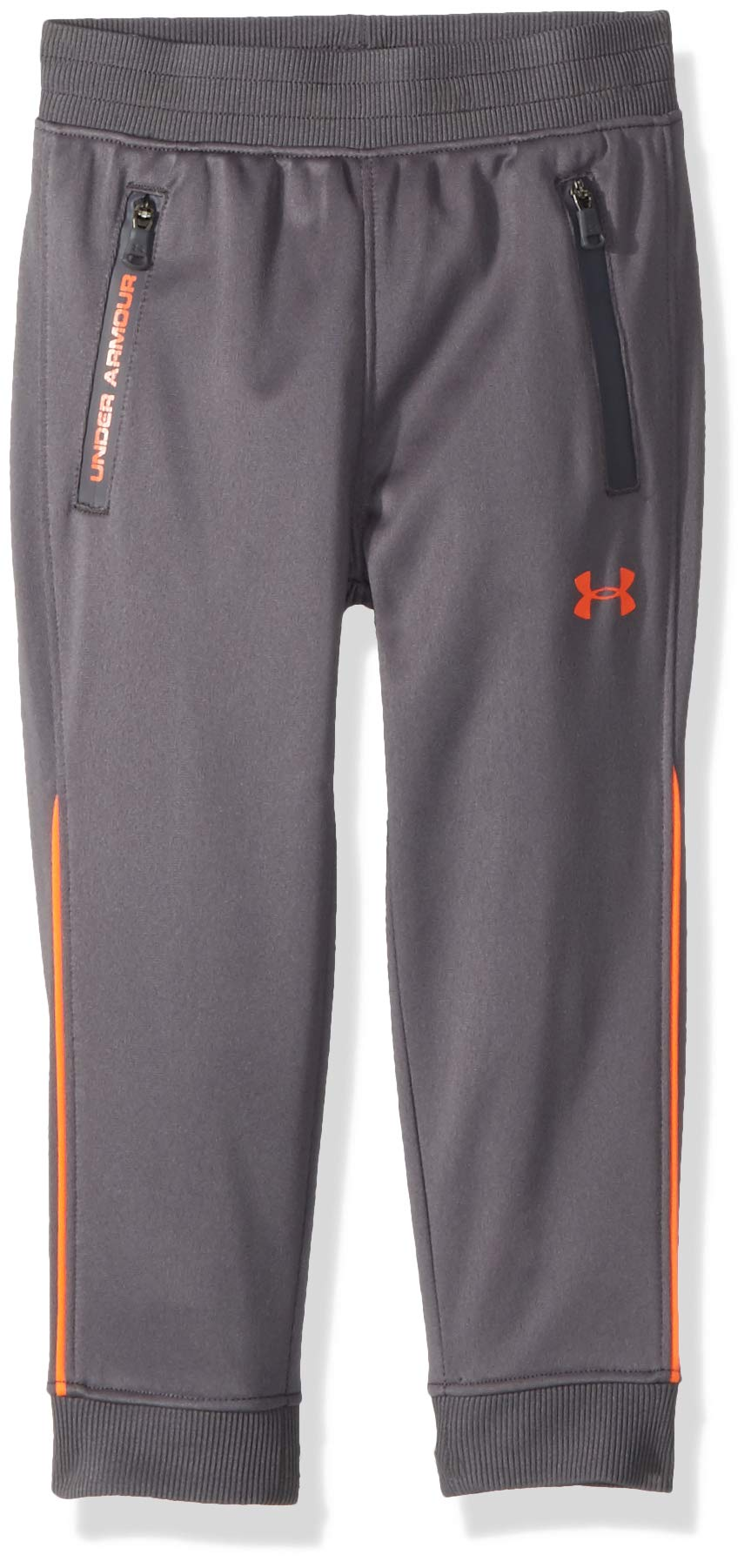 Under Armour Boys' Little Pennant Tapered Pant, Graphite, 4