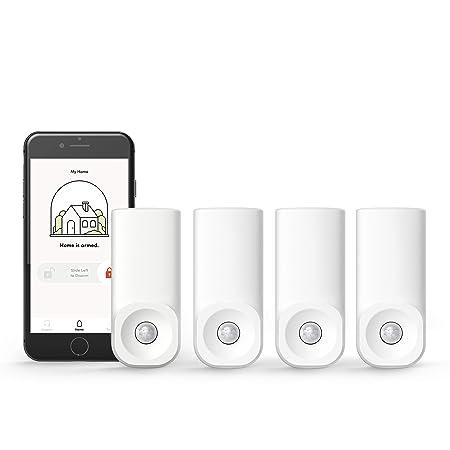 Kangaroo Home Security Motion Sensor 4 Pack, Free Plan