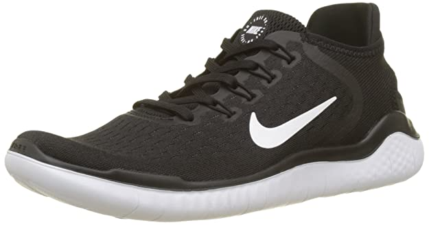 df559a05af NIKE Free RN 2018 Black/White Running Shoes: Amazon.in: Shoes & Handbags