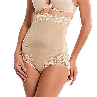 1aaa9b89b59 Queenral Ceinture Amincissante Butt Lifter Femme Culotte Sculptante  Cullotte Gainante Invisible Panty Minceur Body Shaper