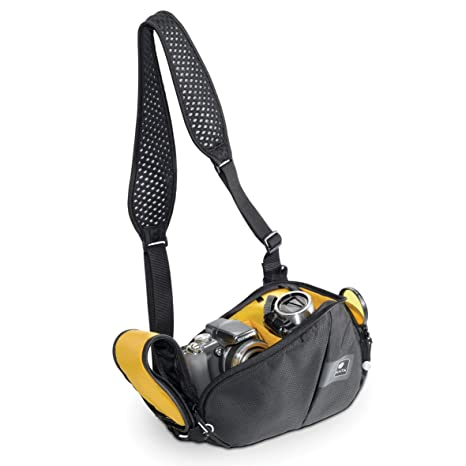Kata Ligh Tri-310 DL - Bolsa bandolera para cámara, negro