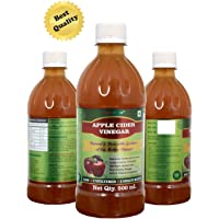 "HealthNutriva Apple Cider Vinegar""Apple Cider Vinegar"" Raw,Unfiltered & Unpasteurized with Goodness of Live Mother Vinegar (500 ml) (Pack of 1)"