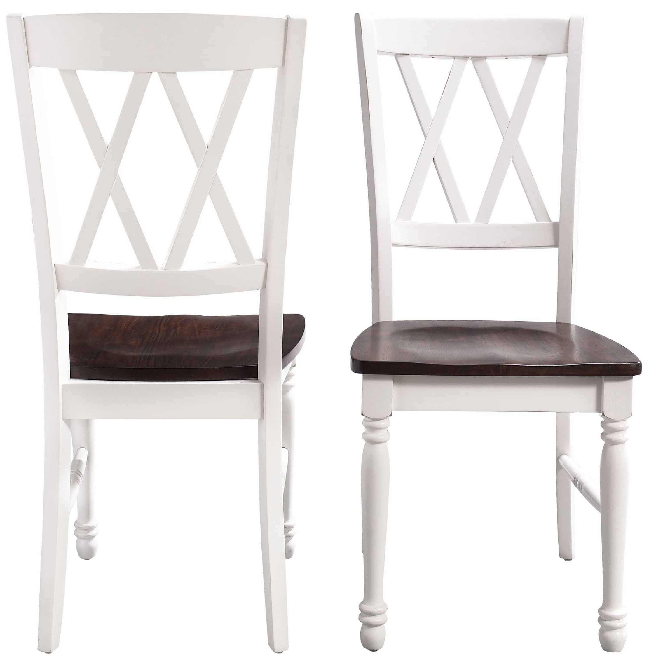 Crosley Furniture CF501018-WH Shelby Dining Chairs (Set of 2), White by Crosley Furniture (Image #7)