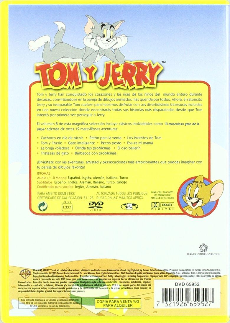 Coleccion Tom Y Jerry. Volumen 8 [DVD]: Amazon.es: Varios: Cine y Series TV