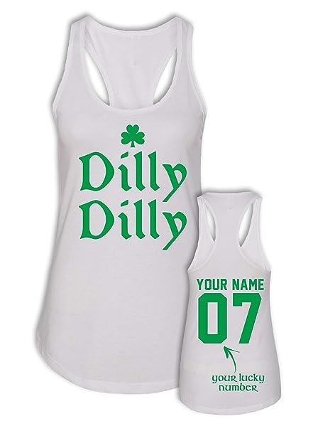 ff3275e61 Dilly Dilly Saint Patricks Day Tank Top - St Patrick Day Shirts Women - St  Paddys