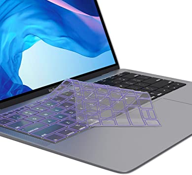 COOSKIN Ultra Thin Keyboard Cover Protector for MacBook Pro 13 15 inch /& Air 13 inch Apple Keyboard Skin Clear Soft Protect