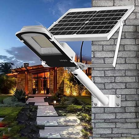 HUI Foco Solar Exterior Jardin con Mando A Distancia Lámpara Solar LED IP65 Impermeable Inalámbrico Seguridad Luz Solar,Luces Solares para Jardín, Garaje, Camino, Patio,30W: Amazon.es: Hogar