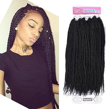 Amazoncom Senegalese Twist Crochet Hair Braids Long Crochet