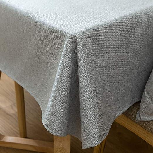 Grigio Chiaro beo tovaglie Impermeabile da Esterni 130/x 230/cm Rettangolare