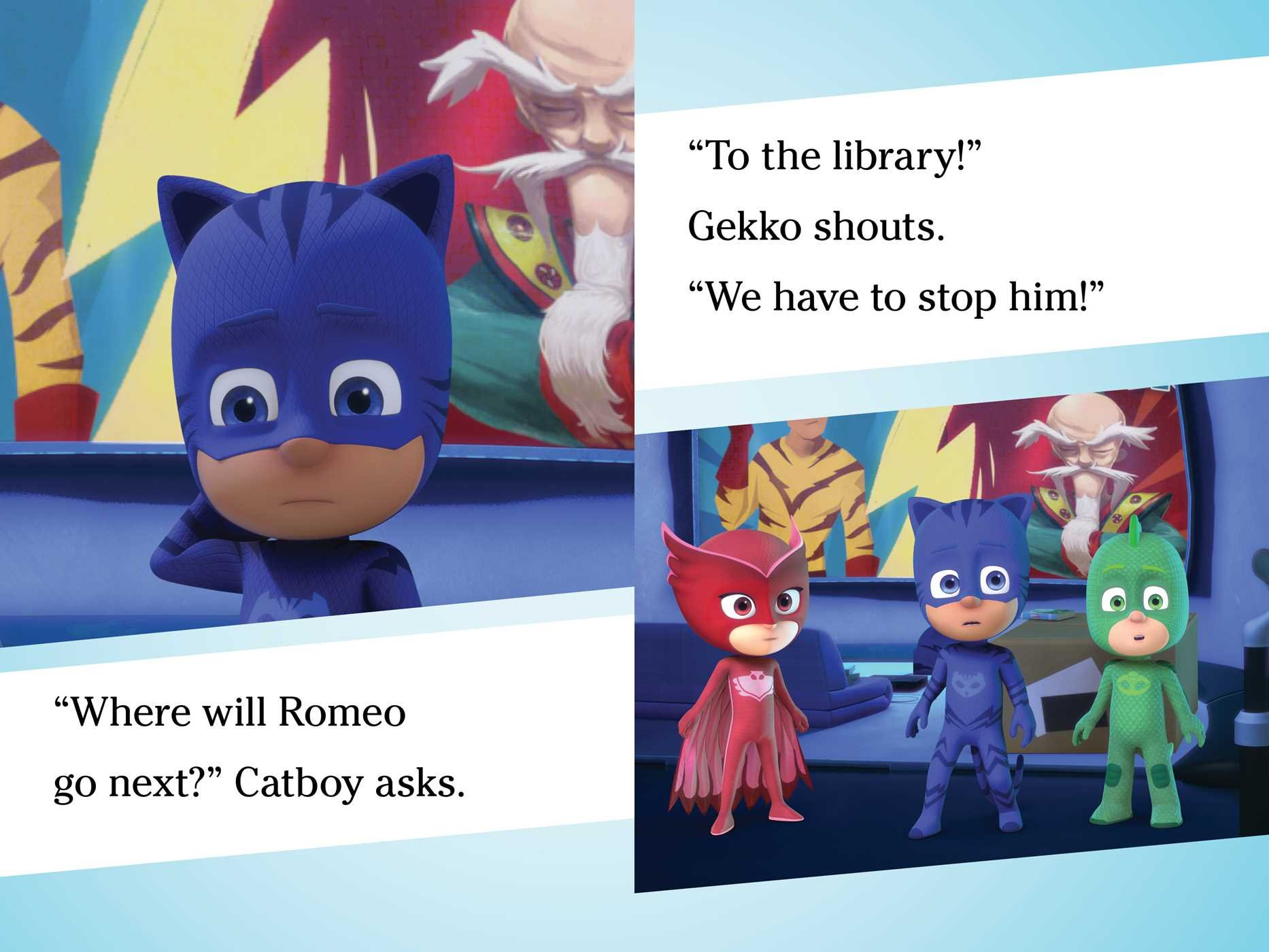 PJ Masks Save the Library! Ready-To-Read, Level One: PJ Masks: Amazon.es: Daphne Pendergrass, Style Guide: Libros en idiomas extranjeros